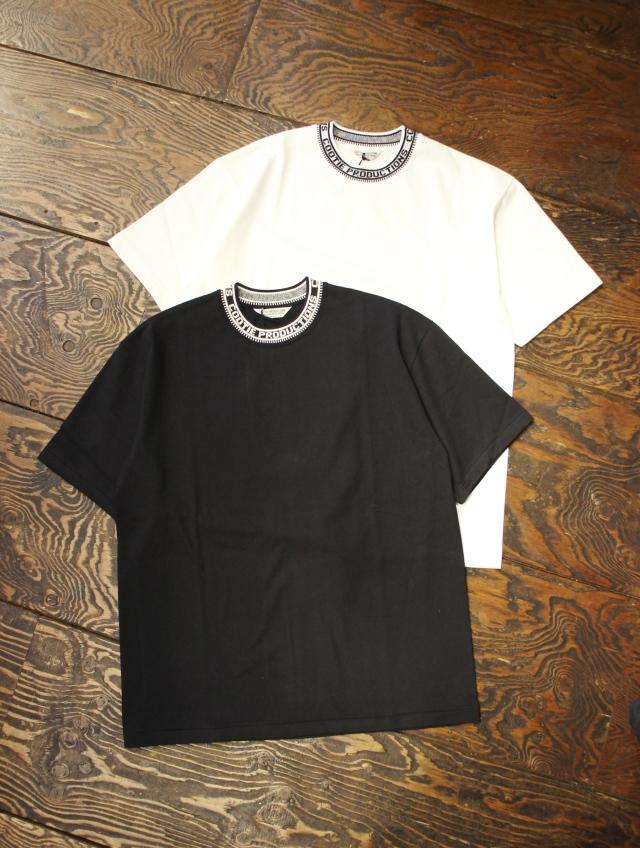 COOTIE  「Jacquard Collar S/S TEE」 ジャガードカラーティーシャツ