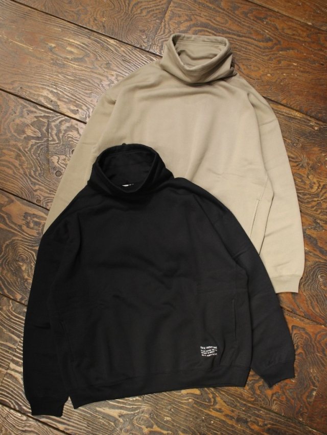 COOTIE  「 Compact Yarn Neck Warmer Sweatshirt 」 タートルネックスウェット