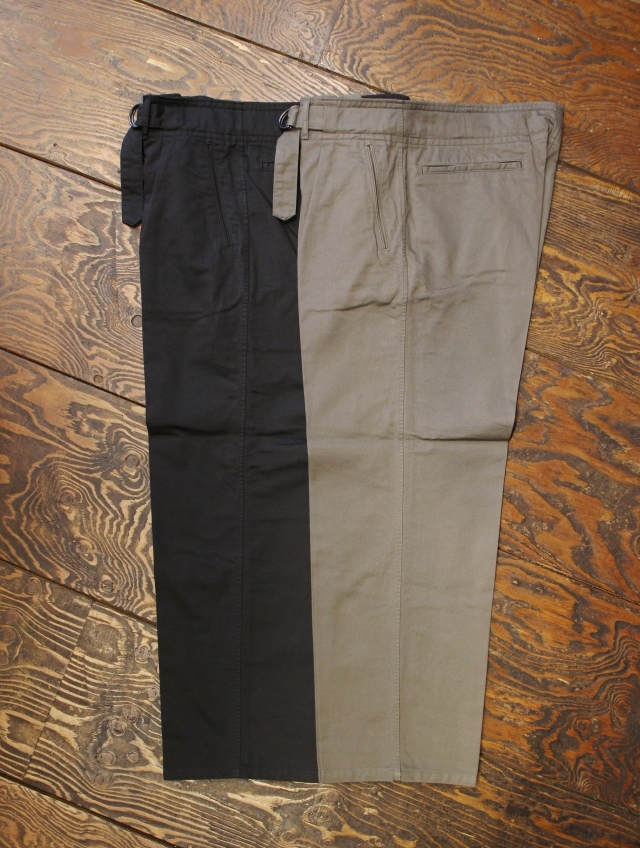 RADIALL    「MIL - WIDE FIT DECK PANTS」 ワークパンツ