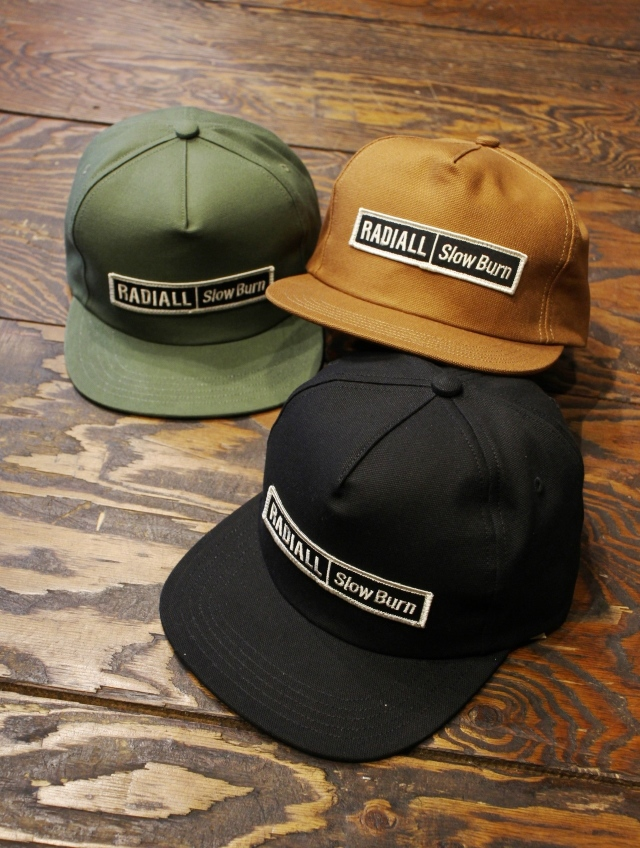 RADIALL  「SLOW BURN - TRUCKER CAP」 トラッカーキャップ