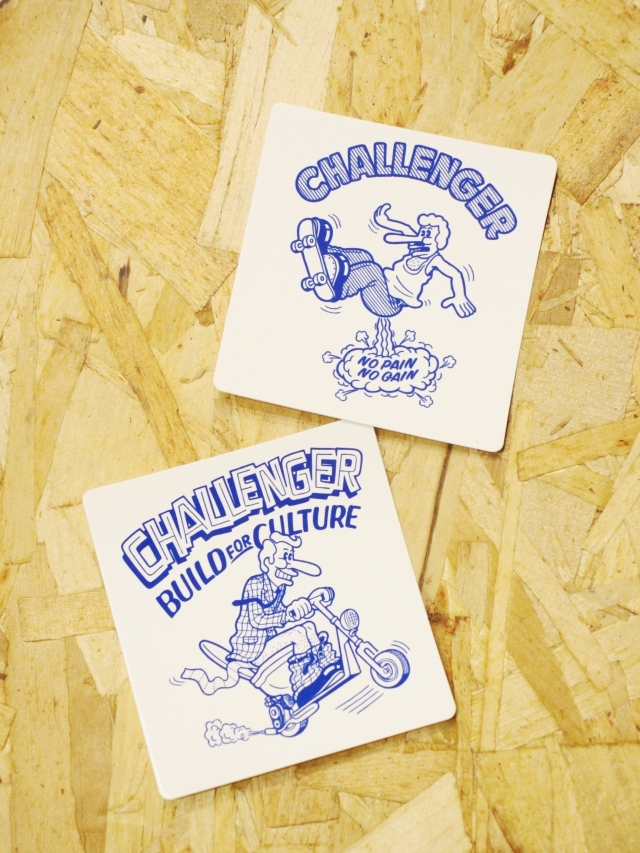 CHALLENGER   「×SKETCH STICKERS SET」  ステッカーセット