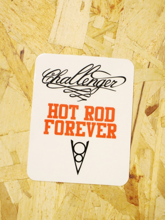 CHALLENGER   「CHALLENGER HOT ROD STICKER」  ステッカー