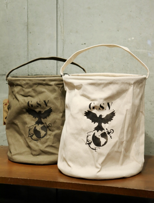 GANGSTERVILLE   「7.19 - CANVAS WATER BUCKETS 〈large〉 」  キャンバスバケツ