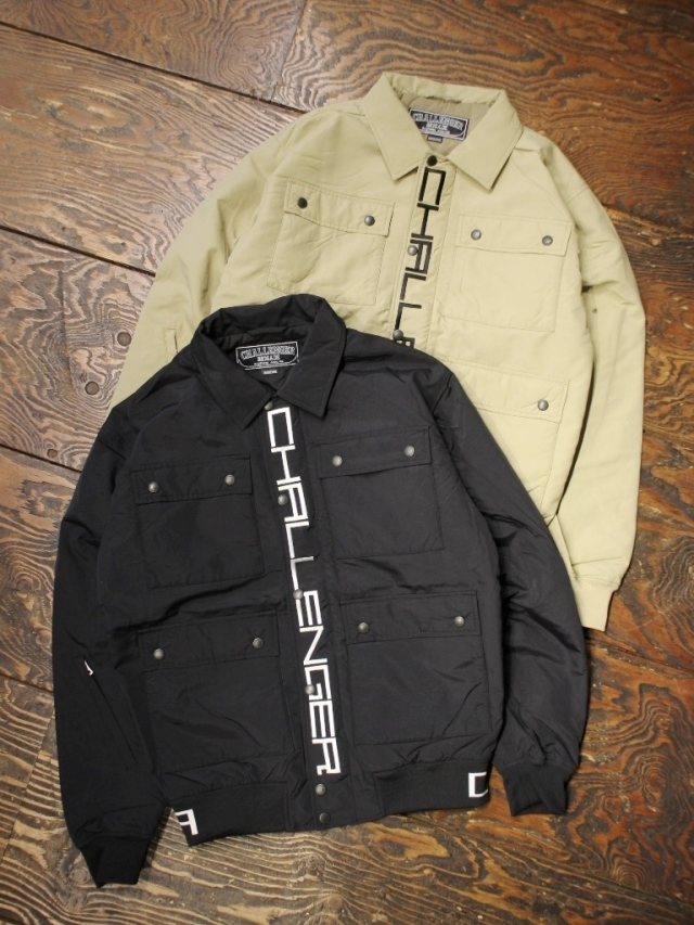 CHALLENGER    「NYLON WORK JACKET」 ワークジャケット