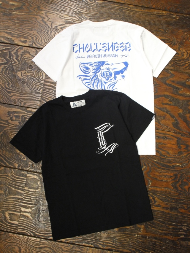 CHALLENGER   「WOLF TEE」  プリントティーシャツ