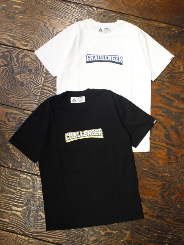 CHALLENGER   「COLLEGE LOGO TEE」  プリントティーシャツ