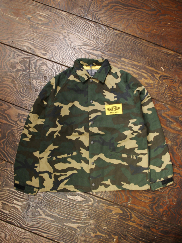 CHALLENGER    「MILITARY COACH JACKET」  コーチジャケット