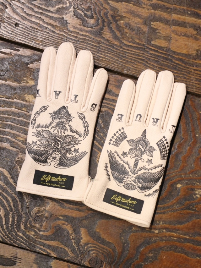 SOFTMACHINE   「STAY TRUE GLOVE」 レザーグローブ