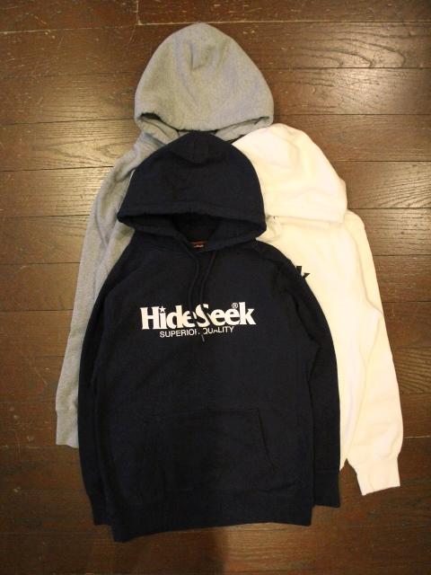 HIDEANDSEEK 「Logo Sweat Parka」 プルオーバーパーカー