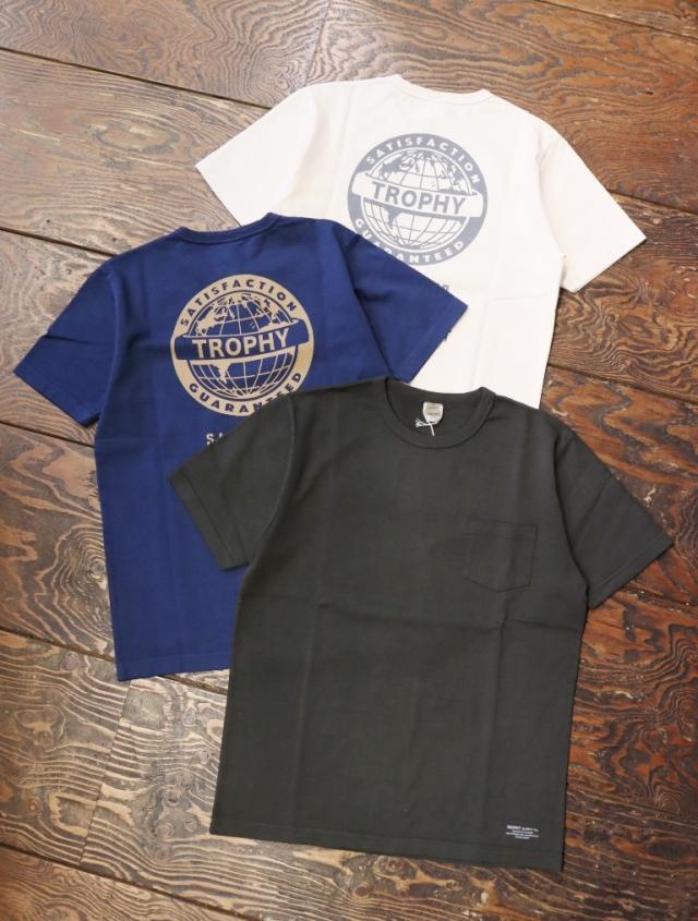 TROPHY CLOTHING  「 Earth OD Pocket Tee 」  プリントティーシャツ
