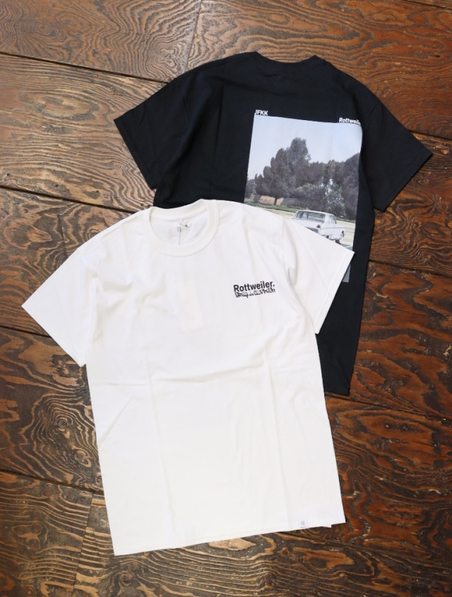 ROTTWEILER  「PHOTO. S/S TEE」  プリントティーシャツ