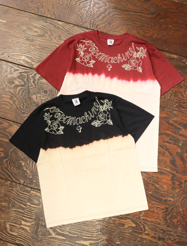 SOFTMACHINE  「DARKEN - T」 タイダイ染めティーシャツ