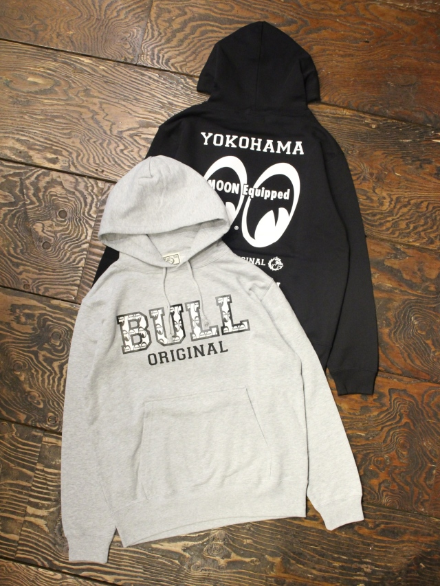 BULL ORIGINAL× MOONEYES   「MOON×BULL PARKA」  プルオーバーパーカー
