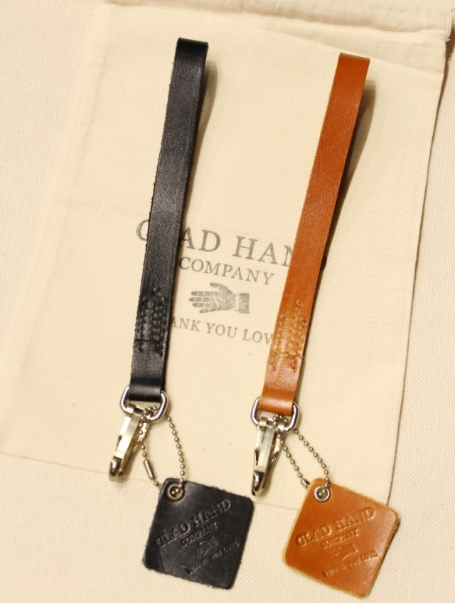 GLAD HAND   「GH NORTH & JUDD - BRACELET KEY FOB 」  レザーキーホルダー