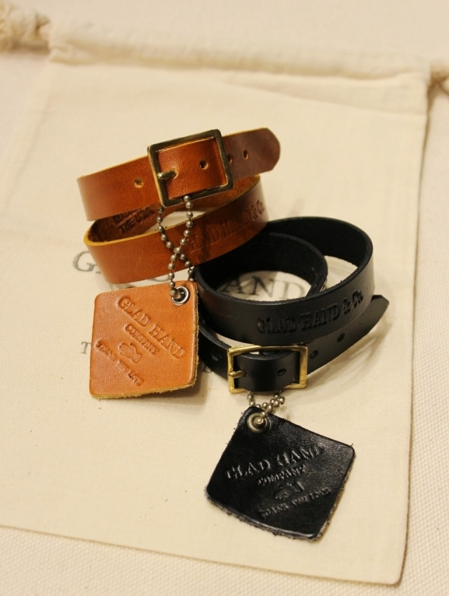 GLAD HAND   「GH NORTH & JUDD - BRACELET 」  レザーブレスレット