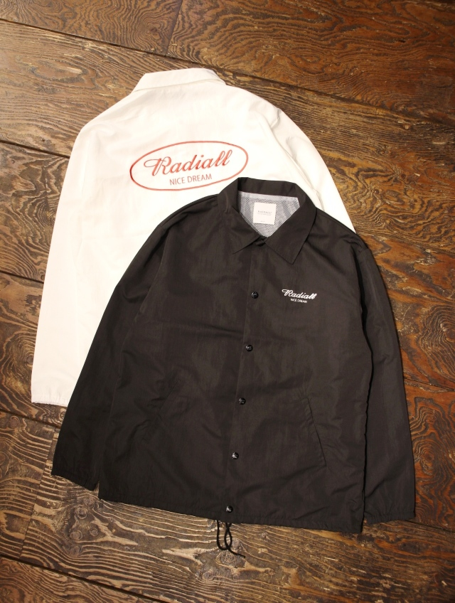 【NEW YEAR LIMITED ITEM !! 】 RADIALL 「OVAL WINDBREAKER JACKET」  コーチジャケット