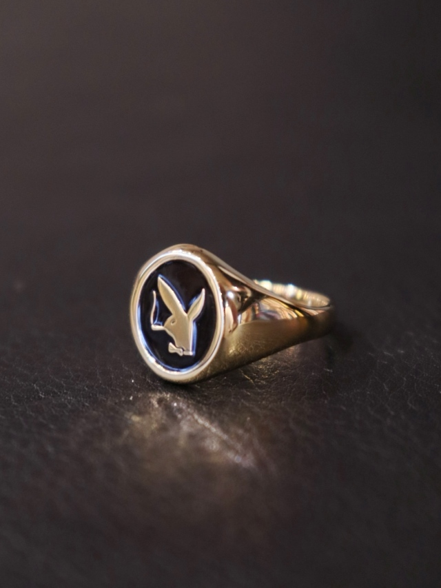 RADIALL  「BUNNY - PINKY RING (18K PLATE ) 」  ピンキーリング
