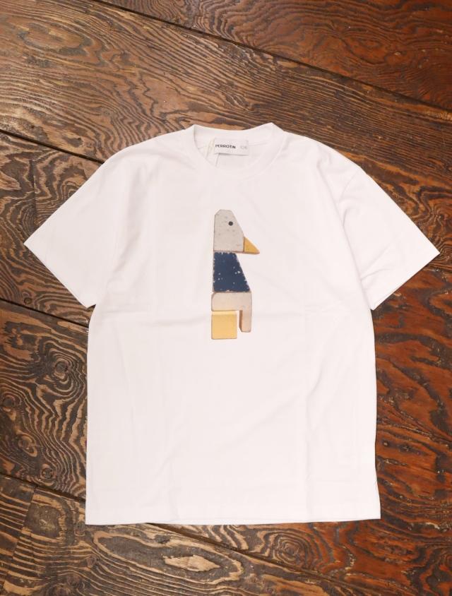 SON OF THE CHEESE × PERROTIN 106 × Makoto Kobayashi  「 DUCK TEE 」 プリントティーシャツ