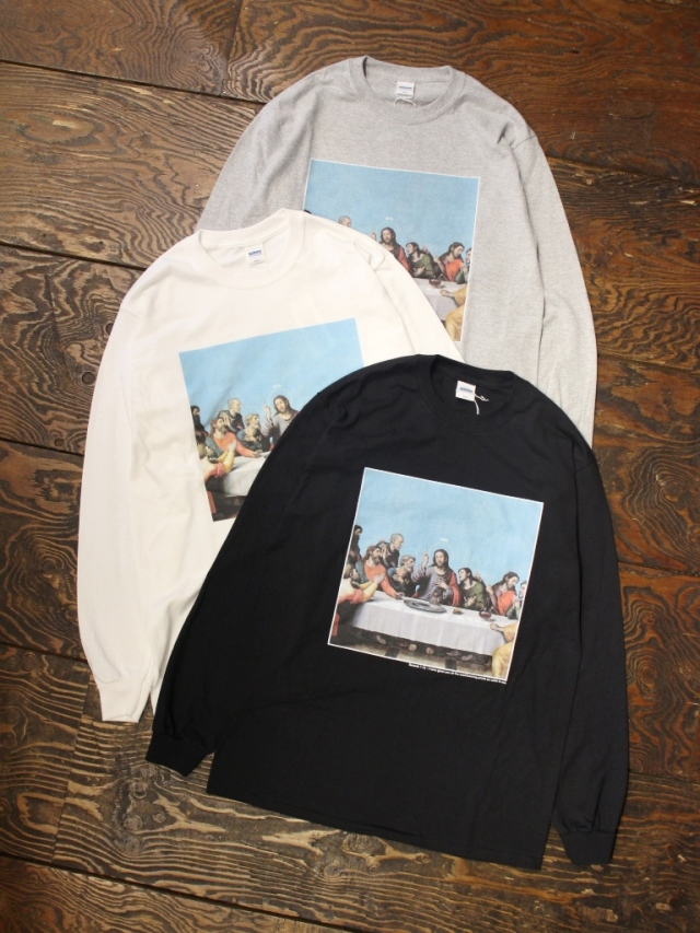 【NEW YEAR ITEM !!】 RADIALL  「HEDONISM - C.N. T-SHIRT L/S」  プリントロンティー