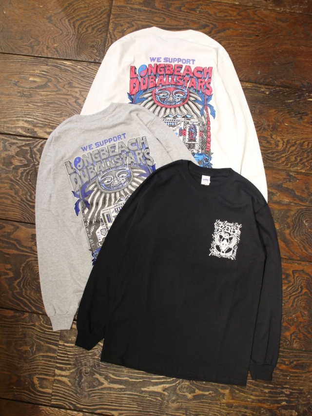 【NEW YEAR ITEM !!】 RADIALL × LONG BEACH DUB ALLSTARS  「LONG BEACH - C.N. T-SHIRT L/S」  プリントロンティー