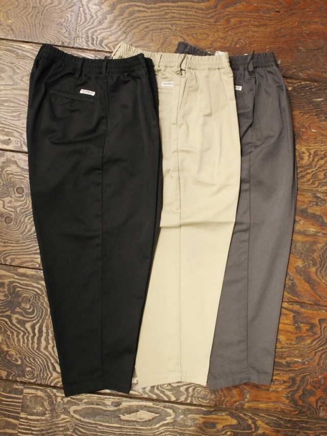 COOTIE  「T/C 2 Tuck Easy Pants 」 2タックイージーパンツ