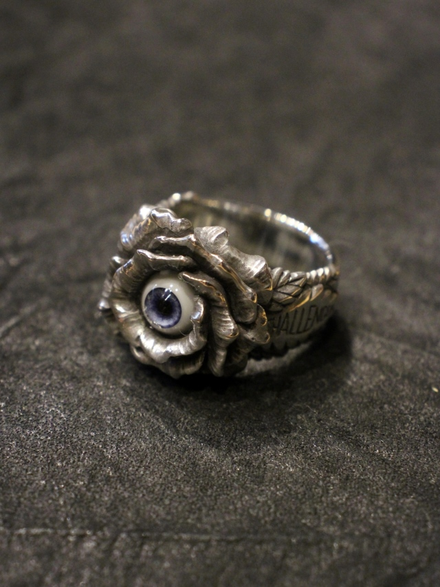 CHALLENGER  「ROSE EYE RING <SILVER925>」  SILVER925製 リング