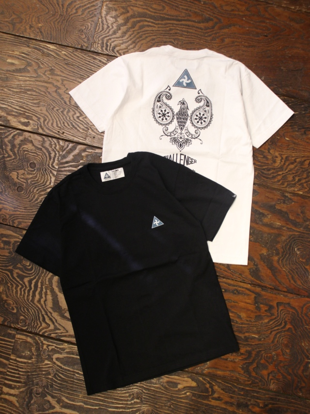 CHALLENGER    「PAISLEY EAGLE TEE」 プリントティーシャツ