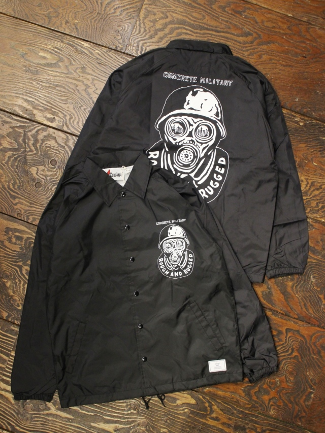 【NEW YEAR ITEM !!】 ROUGH AND RUGGED  「 RR×NUTS COACH JACKET 」  ナイロンコーチジャケット