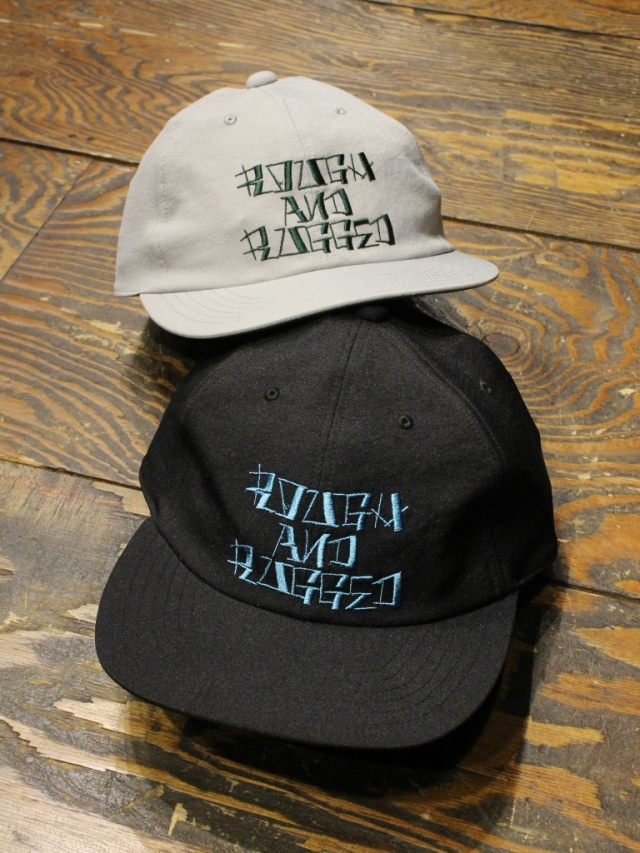 ROUGH AND RUGGED   「DESIGN CAP/RARDC」  6パネルキャップ