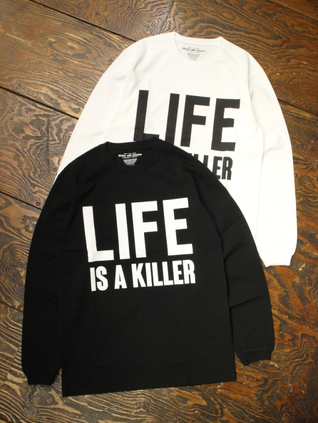ROUGH AND RUGGED   「DESIGN LS-01/LIFE」  プリントロンティー