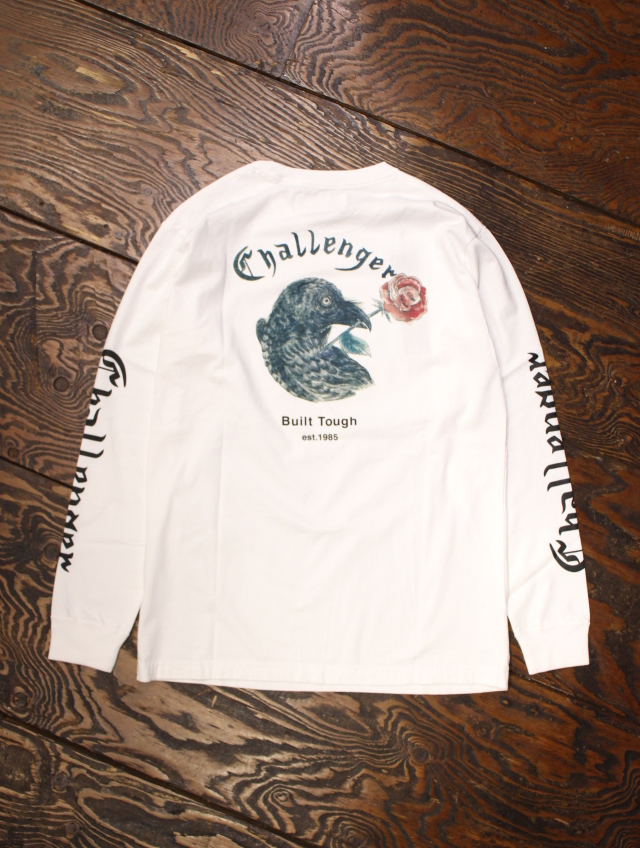 CHALLENGER   「L/S CROW & ROSE TEE」 ロングスリーブティーシャツ