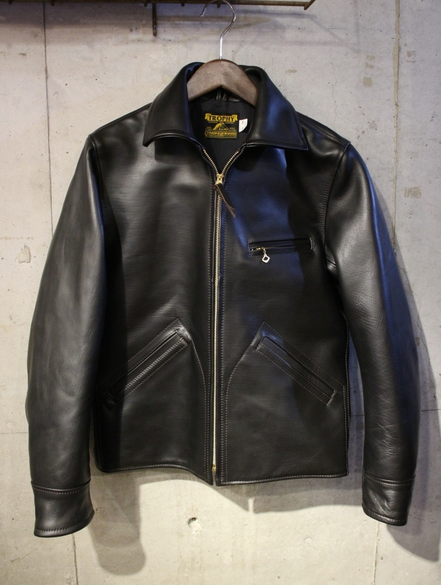 TROPHY CLOTHING 「Humming Bird Jacket」  ホースハイド レザースポーツジャケット