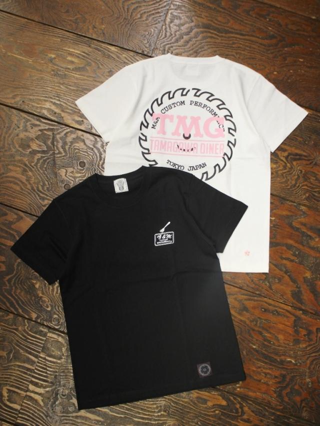 【 11月2日発売!】  M&M CUSTOM PERFORMANCE × TAMAGAWA DINER   「 PRINT S/S T-SHIRT 」 プリントティーシャツ