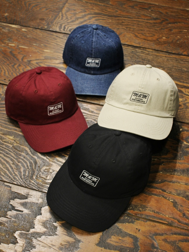 M&M CUSTOM PERFORMANCE × TAMAGAWA DINER   「 COTTON CAP 」 コットンキャップ