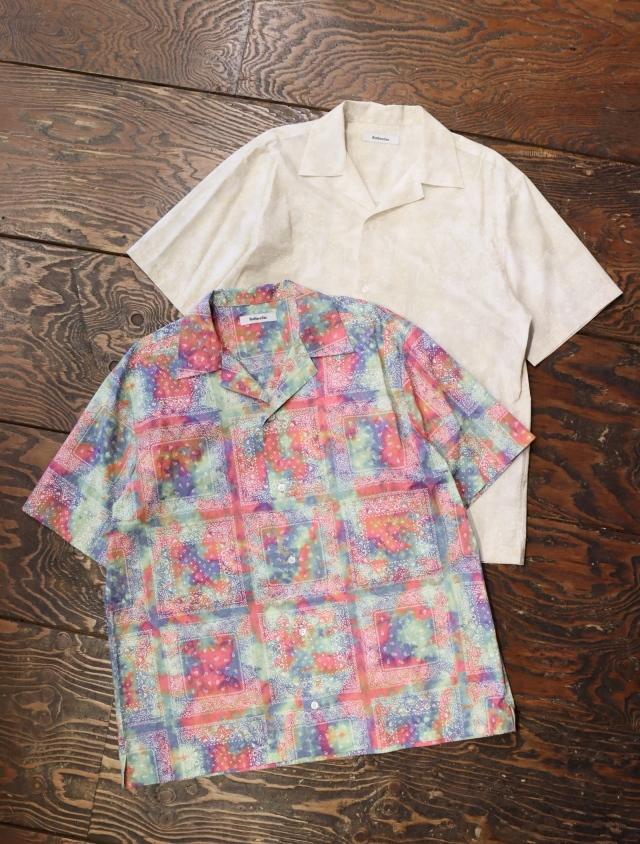 ROTTWEILER  「 DYED BANDANA S/S SHIRTS 」  オープンカラーシャツ