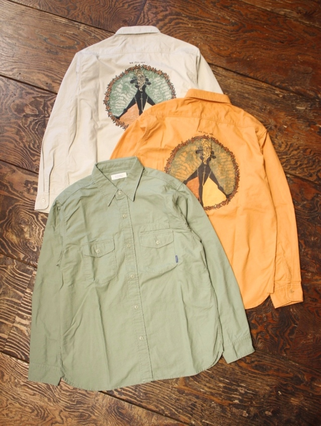 RADIALL  「CIRCLE OF LOVE - REGULAR COLLARED SHIRT L/S」 レギュラーカラー シャツ