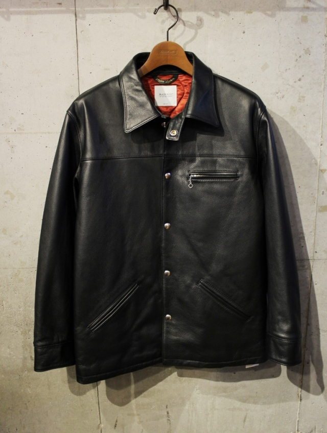 RADIALL  「HARVEST - CAR COAT」  レザー カーコート