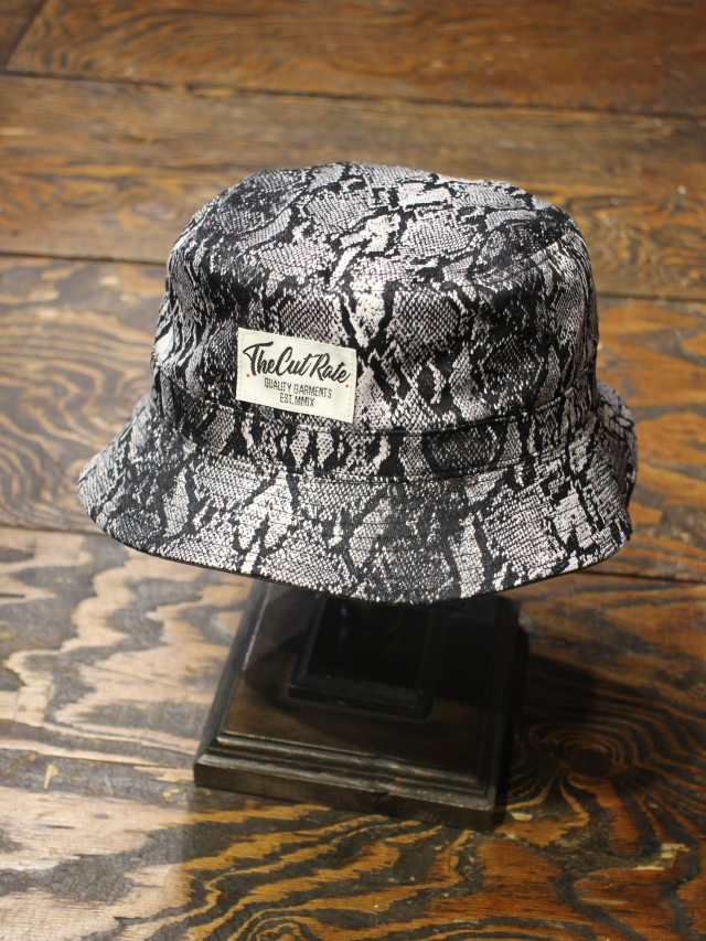 CUT RATE  「PYTHON REVERSIBLE HAT」   リバーシブルハット