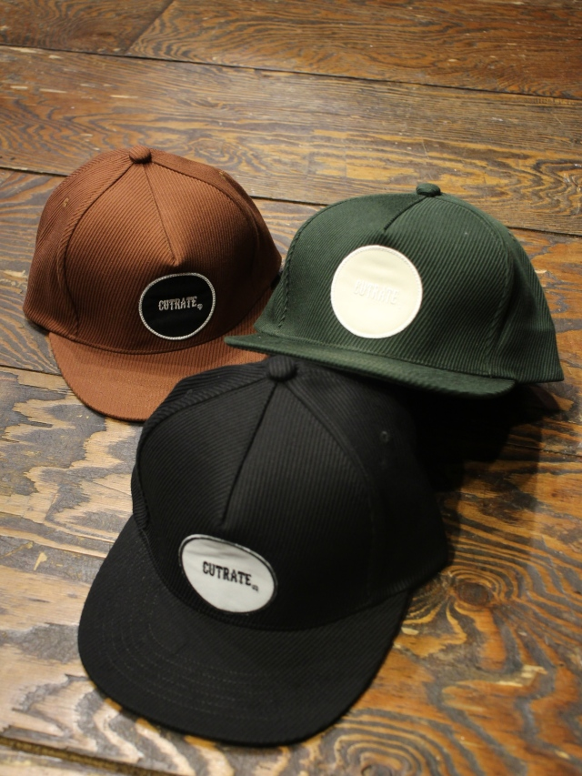 CUT RATE  「PIQUE WAPPEN CAP」   ピケワッペンキャップ