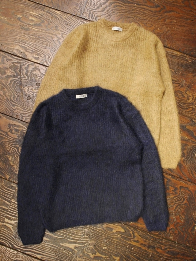 RADIALL  「DOWN HOME - CREW NECK SWEATER L/S」  モヘアセーター