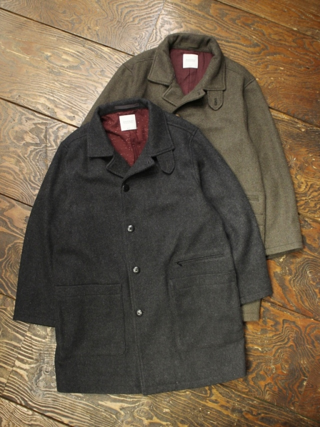 RADIALL  「CYPHER - SHOP COAT」  ショップコート