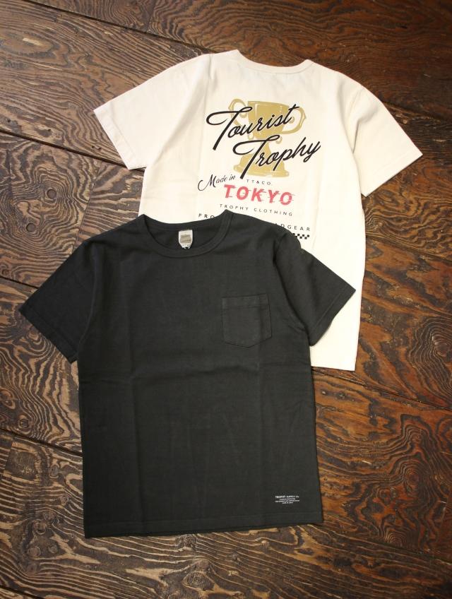 TROPHY CLOTHING  「Tourist Trophy OD Pocket Tee」 ボリュームコットン ポケットティーシャツ