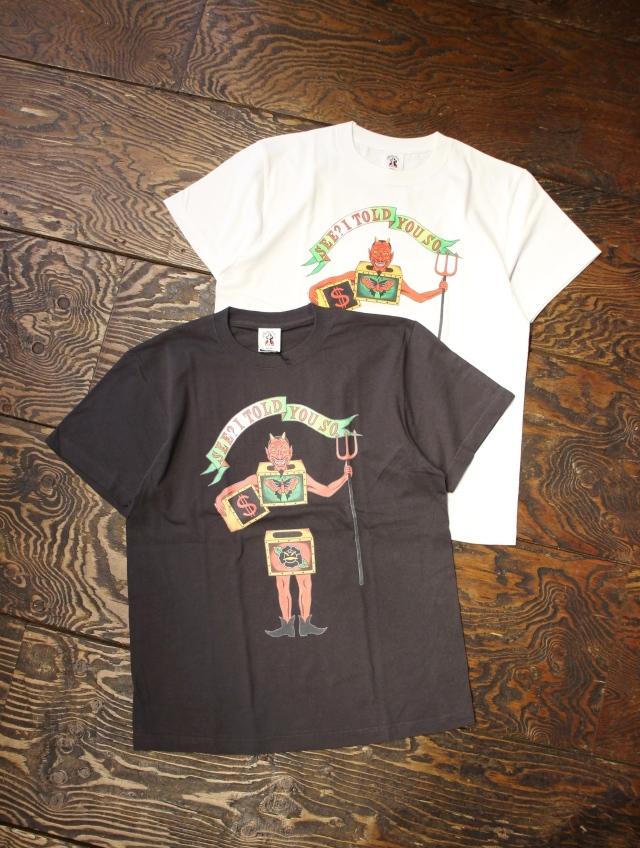 SOFTMACHINE  「WEIRD BOX - T」 プリントティーシャツ