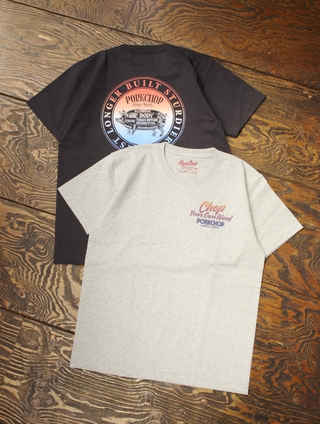 PORKCHOP GARAGE SUPPLY   「CIRCLE PORK BACK TEE」  ティーシャツ