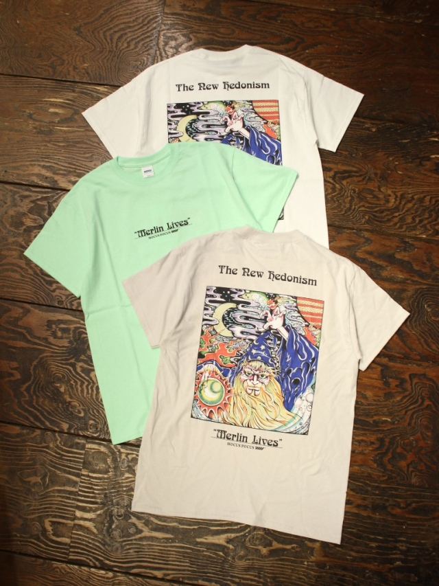 RADIALL     「HOCUS POCUS - CREW NECK T-SHIRT S/S」 プリントティーシャツ