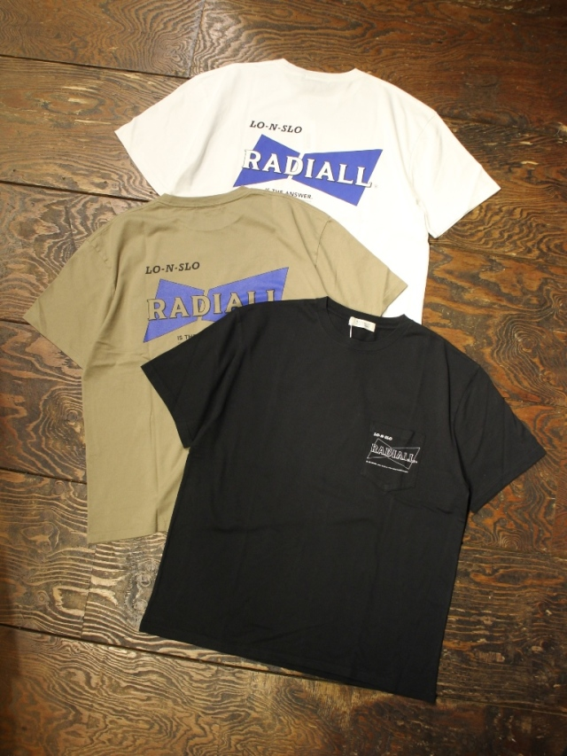 RADIALL    「BOWTIE - CREW NECK POCKET T-SHIRT S/S」 ポケットティーシャツ