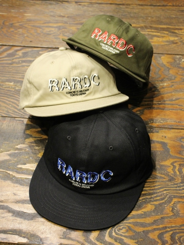 ROUGH AND RUGGED   「DESIGN CAP / RARDC」  6パネルキャップ