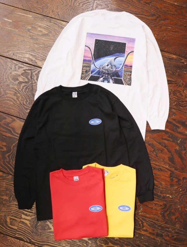 CHALLENGER  「L/S INCEPTION TEE」  プリントロンティー