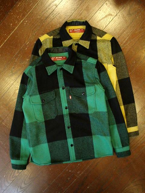 HIDEANDSEEK 「Check CPO Shirt」 チェックCPOシャツ