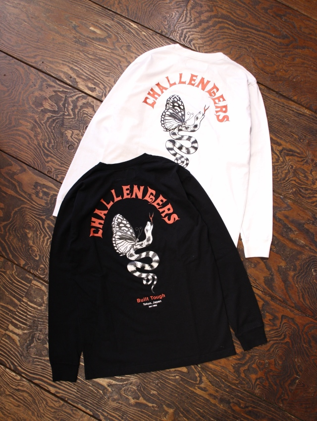 CHALLENGER × MASH UP   「 MASH UP L/S TEE」 プリントロンティー